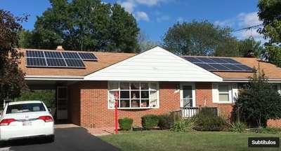 Paneles solares hacen funcionar el aire acondicionado costos
