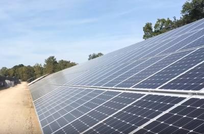 parque solar en lapeer electricidad