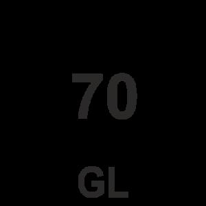 símbolo de reciclaje numero