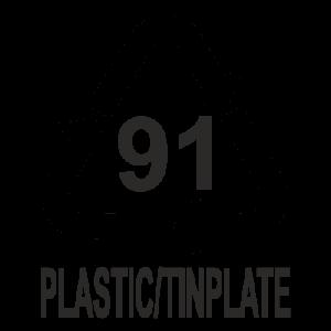 símbolo de reciclaje no