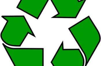 símbolo de reciclaje origen