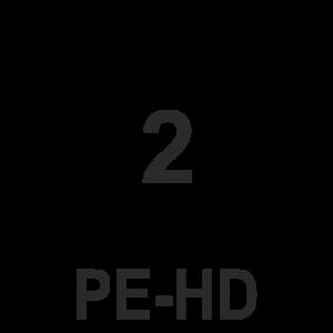 simbolo de reciclaje PE-HD