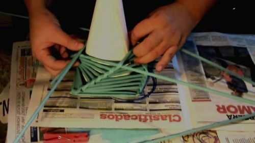 hacer arbol de navidad caseros