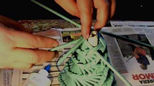 hacer arbol de navidad blanco decoracion
