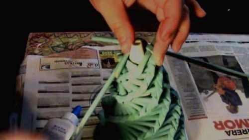 hacer arbol de navidad baratos artificiales