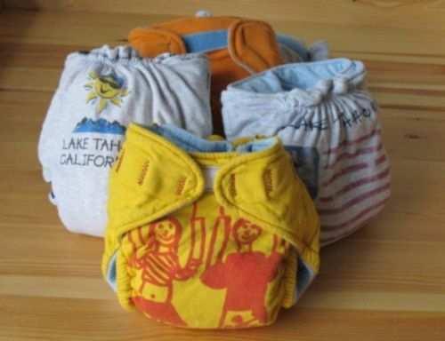 como reciclar camisetas viejas calzones