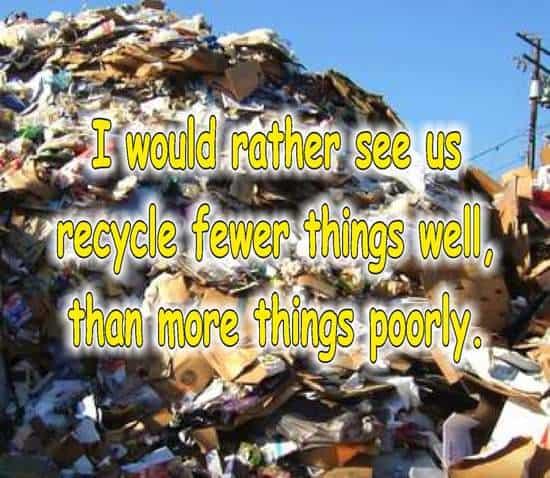 frases de reciclaje en ingles baterias