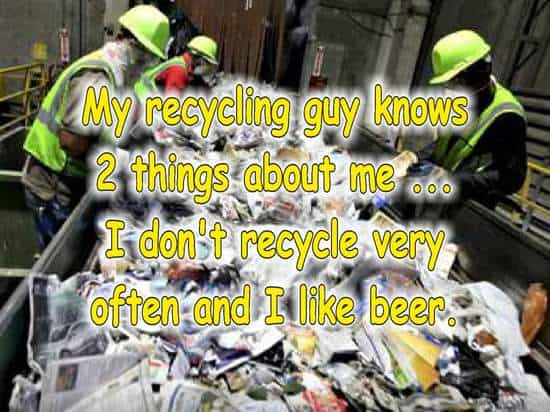 frases de reciclaje en inglesmasera
