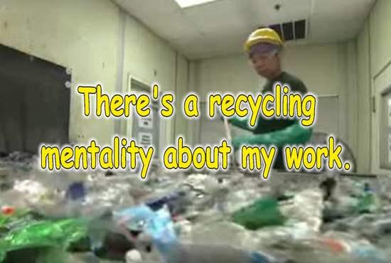 frases de reciclaje en ingles envases