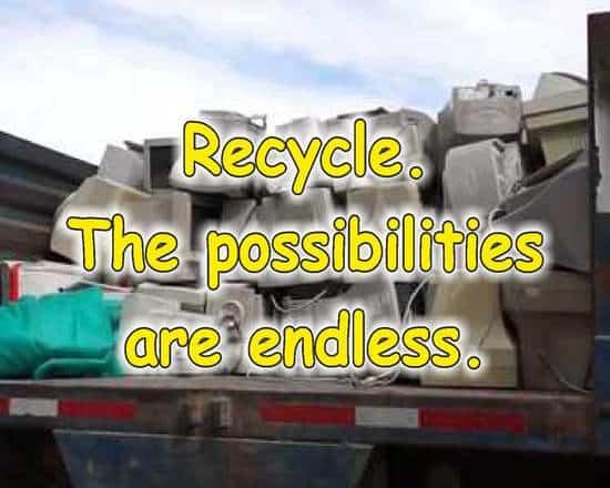 frases de reciclaje en ingles monitores