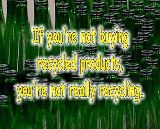 frases de reciclaje en ingles vidrio