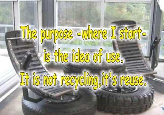 frases sobre reciclaje en ingles neumaticos
