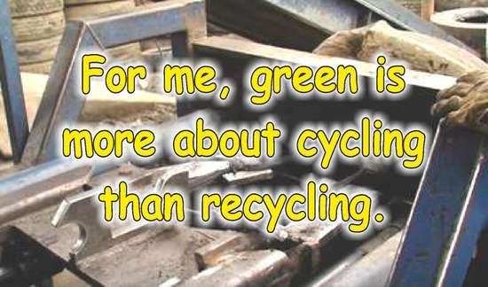 frases sobre reciclaje en ingles hule