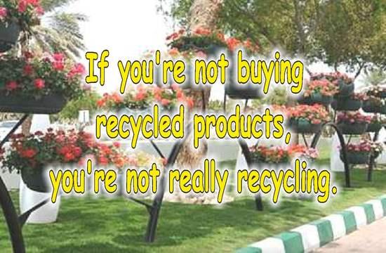 frases sobre reciclaje en ingles llantas