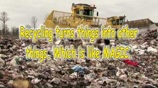 frases sobre reciclaje en ingles basura