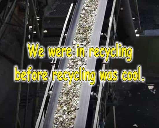 frases sobre reciclaje en ingles metal