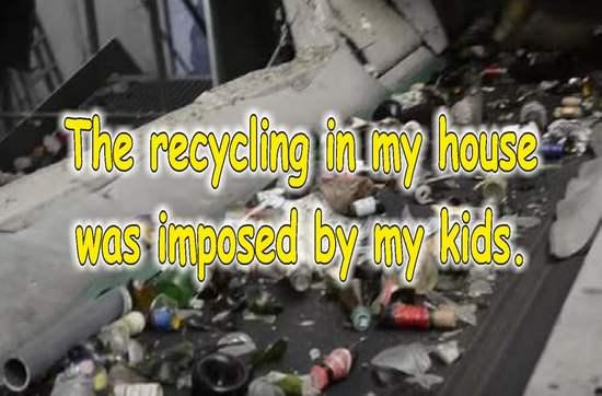 frases sobre reciclaje en ingles tapas