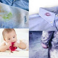 quitar manchas de la ropa con productos naturales