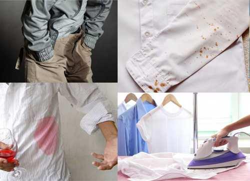 quitar manchas de la ropa tu misma
