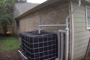 como reciclar el agua de lluvia