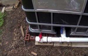 opcion de reciclar el agua de lluvia