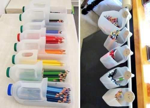 reciclar envases de plastico con tapa