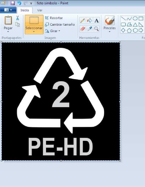 simbolo de reciclaje blanco ecologico