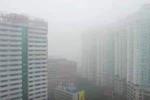 Contaminación del aire causas