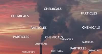 Contaminación del aire productos quimicos