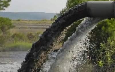 contaminación industrial del agua