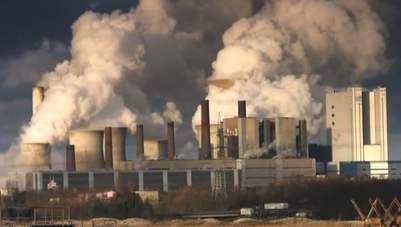 contaminación industrial del aire