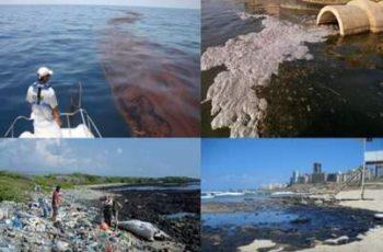 que es la contaminación marina