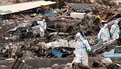 contaminación radioactiva en el agua