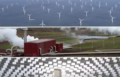 energía renovable ejemplos