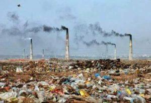 contaminación antropogénica del suelo