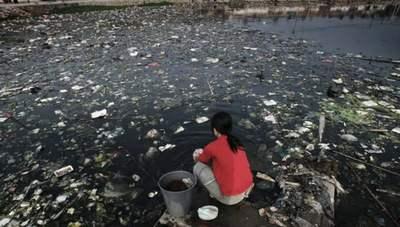 contaminación de los ríos wikipedia
