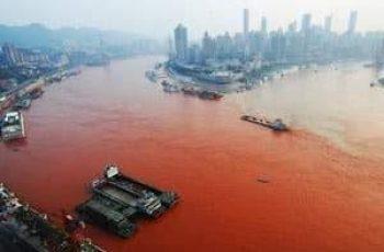 contaminación de los ríos y mares