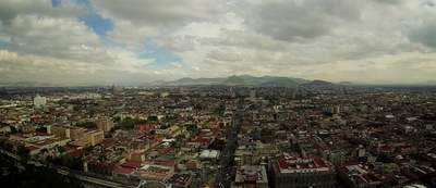 estadisticas de la contaminación del aire en la ciudad de México