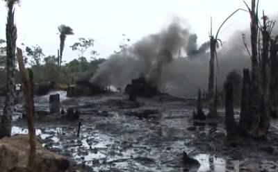 contaminación del suelo por hidrocarburos en México