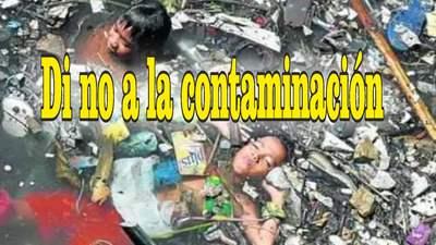 frases de contaminación lagunas