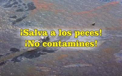 frases de contaminación ambiental petroleo