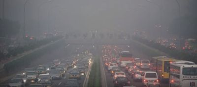 contaminación en china wikipedia