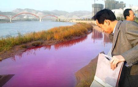 contaminacion industrial del agua consecuencias