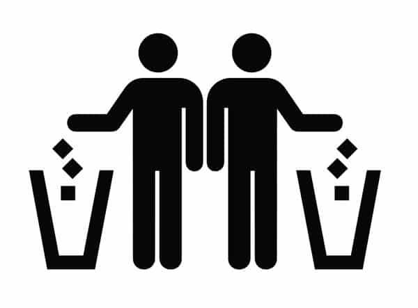 no tires basura en la escuela