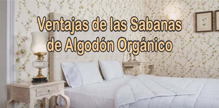 sabanas de algodón orgánico artesanal