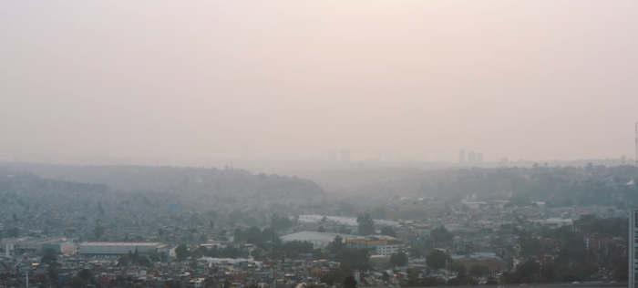 Pollution de l'air à Mexico climate