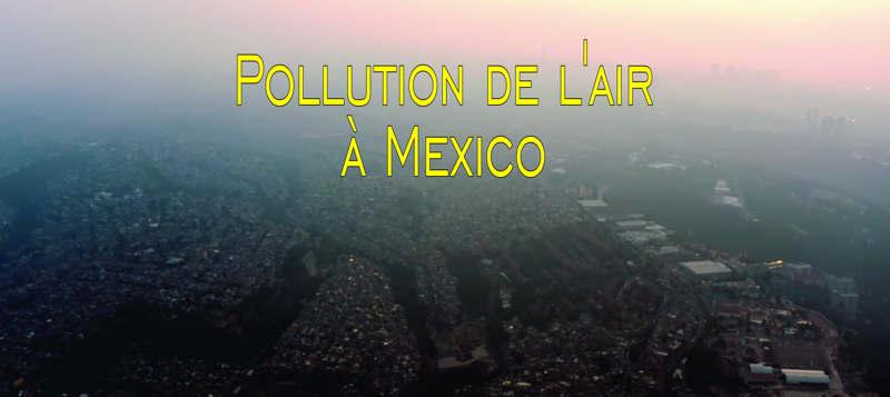 Pollution de l'air à Mexico Les niveaux d'oxygène