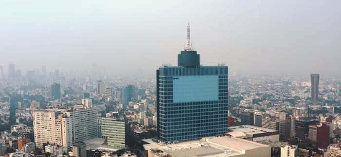Pollution de l'air à Mexico danger