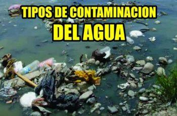 tipos de contaminación del agua en la ciudad de mexico
